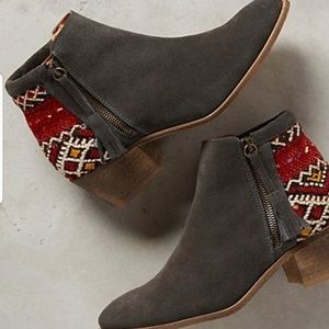 Anthropologie Howsty Tahirah Bootie made in Spain